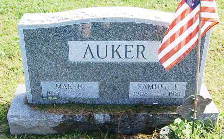 AUKER, MAE - Juniata County, Pennsylvania | MAE AUKER - Pennsylvania Gravestone Photos