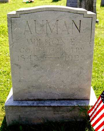 AUMAN, WILSON EDGAR - Juniata County, Pennsylvania | WILSON EDGAR AUMAN - Pennsylvania Gravestone Photos