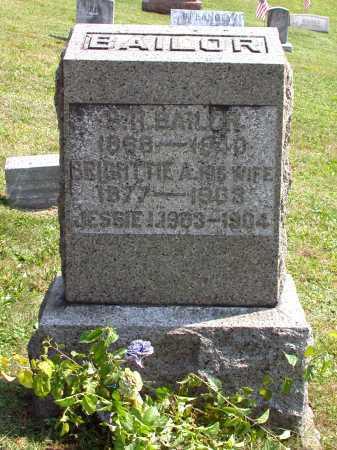 BAILOR, BRIGHTTIE A. - Juniata County, Pennsylvania | BRIGHTTIE A. BAILOR - Pennsylvania Gravestone Photos