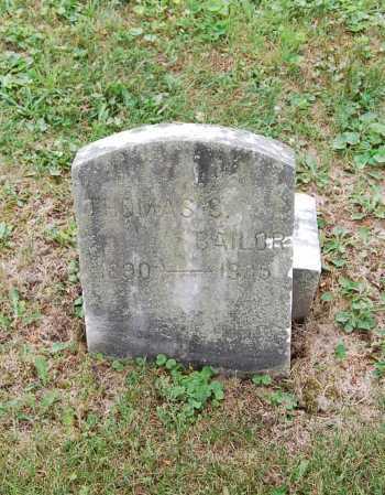 BAILOR, THOMAS S. - Juniata County, Pennsylvania | THOMAS S. BAILOR - Pennsylvania Gravestone Photos