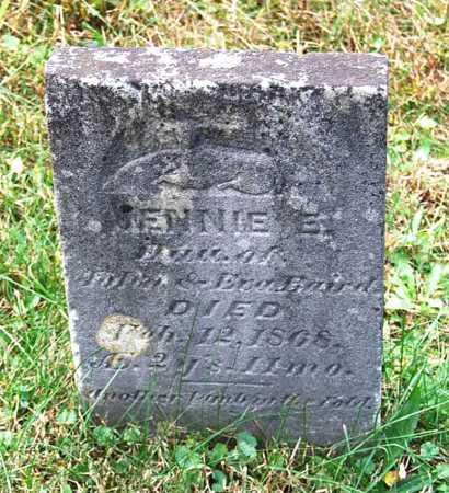 BAIRD, JENNIE E. - Juniata County, Pennsylvania   JENNIE E. BAIRD - Pennsylvania Gravestone Photos