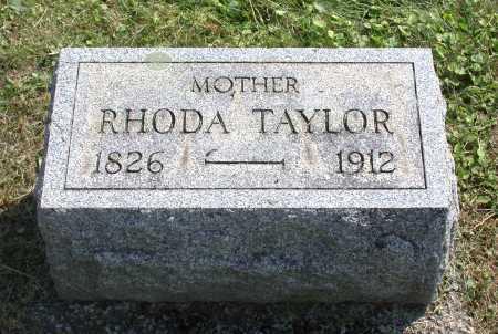 TAYLOR BALSBACH, RHODA - Juniata County, Pennsylvania | RHODA TAYLOR BALSBACH - Pennsylvania Gravestone Photos