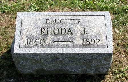 BALSBACH, RHODA J. - Juniata County, Pennsylvania | RHODA J. BALSBACH - Pennsylvania Gravestone Photos