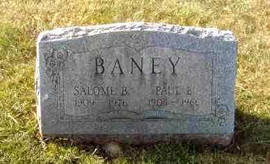 BANEY, PAUL EMERICK - Juniata County, Pennsylvania | PAUL EMERICK BANEY - Pennsylvania Gravestone Photos