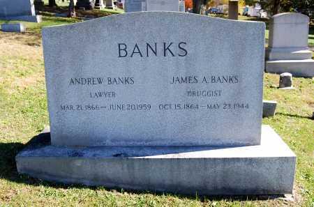 BANKS, JAMES ALONZO - Juniata County, Pennsylvania | JAMES ALONZO BANKS - Pennsylvania Gravestone Photos