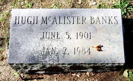 BANKS, HUGH MCALISTER - Juniata County, Pennsylvania | HUGH MCALISTER BANKS - Pennsylvania Gravestone Photos