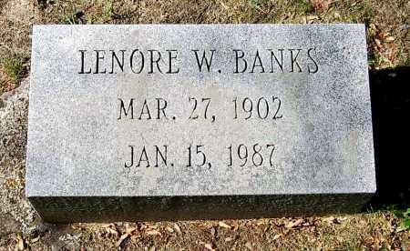 BANKS, LENORE - Juniata County, Pennsylvania | LENORE BANKS - Pennsylvania Gravestone Photos