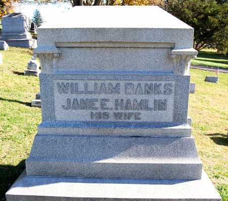 HAMLIN, JANE ELIZABETH - Juniata County, Pennsylvania | JANE ELIZABETH HAMLIN - Pennsylvania Gravestone Photos