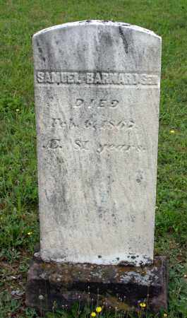 BARNARD, SAMUEL - Juniata County, Pennsylvania | SAMUEL BARNARD - Pennsylvania Gravestone Photos