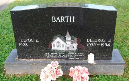 BARTH, DELORUS B. - Juniata County, Pennsylvania | DELORUS B. BARTH - Pennsylvania Gravestone Photos