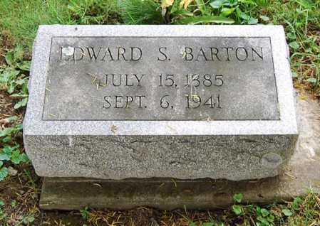 BARTON, EDWARD S. - Juniata County, Pennsylvania | EDWARD S. BARTON - Pennsylvania Gravestone Photos