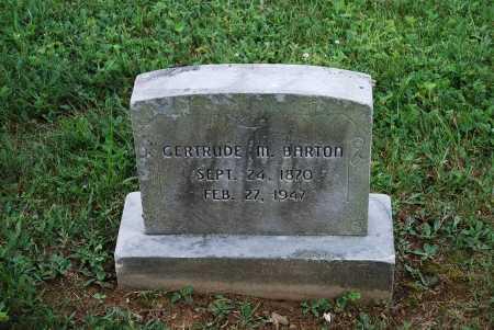 BARTON, GERTRUDE M. - Juniata County, Pennsylvania   GERTRUDE M. BARTON - Pennsylvania Gravestone Photos