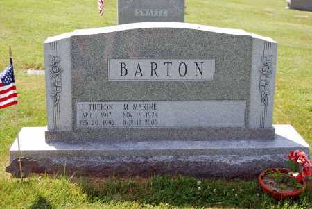 BARTON, M. MAXINE - Juniata County, Pennsylvania | M. MAXINE BARTON - Pennsylvania Gravestone Photos