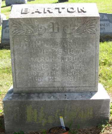 BARTON, JOHN C. - Juniata County, Pennsylvania | JOHN C. BARTON - Pennsylvania Gravestone Photos