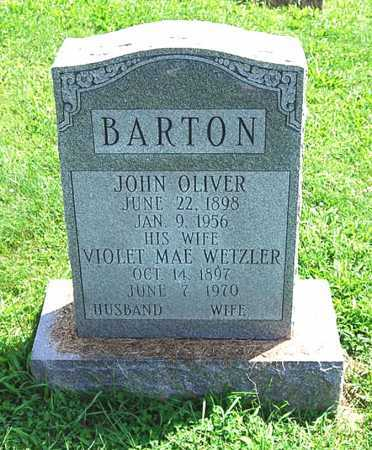 BARTON, JOHN OLIVER - Juniata County, Pennsylvania | JOHN OLIVER BARTON - Pennsylvania Gravestone Photos