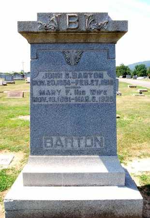 CROZIER BARTON, MARY F. - Juniata County, Pennsylvania | MARY F. CROZIER BARTON - Pennsylvania Gravestone Photos