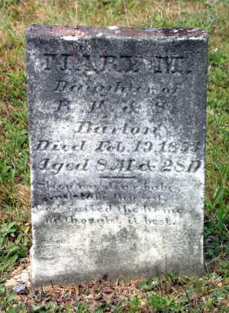BARTON, MARY M. - Juniata County, Pennsylvania | MARY M. BARTON - Pennsylvania Gravestone Photos