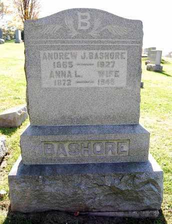 BASHORE, ANDREW J. - Juniata County, Pennsylvania | ANDREW J. BASHORE - Pennsylvania Gravestone Photos