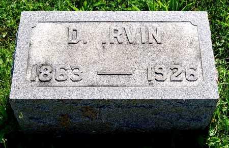 BASHORE, D. IRVIN - Juniata County, Pennsylvania | D. IRVIN BASHORE - Pennsylvania Gravestone Photos