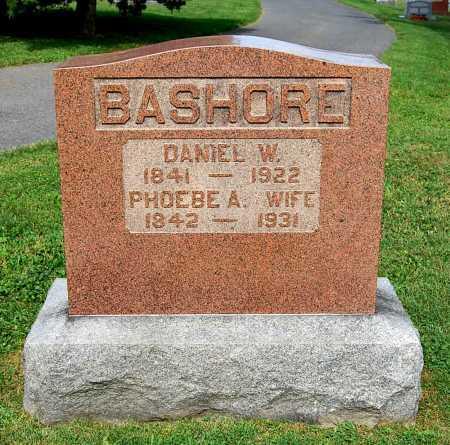 BASHORE, DANIEL W. - Juniata County, Pennsylvania | DANIEL W. BASHORE - Pennsylvania Gravestone Photos