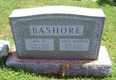 BASHORE, ANNA MINERVA - Juniata County, Pennsylvania | ANNA MINERVA BASHORE - Pennsylvania Gravestone Photos
