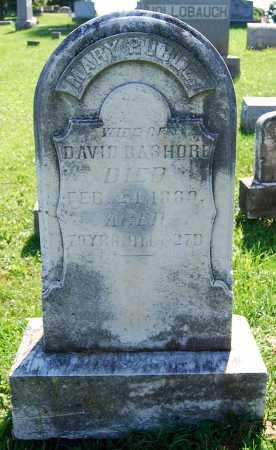 BASHORE, MARY - Juniata County, Pennsylvania | MARY BASHORE - Pennsylvania Gravestone Photos