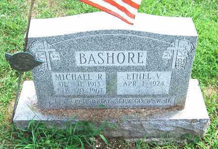 BASHORE, ETHEL V. - Juniata County, Pennsylvania | ETHEL V. BASHORE - Pennsylvania Gravestone Photos