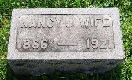 BASHORE, NANCY JANE - Juniata County, Pennsylvania | NANCY JANE BASHORE - Pennsylvania Gravestone Photos