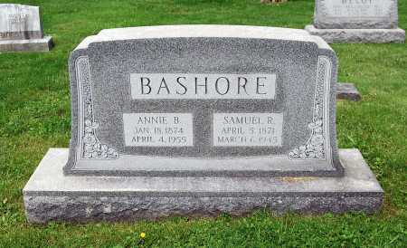 BASHORE, ANNIE - Juniata County, Pennsylvania   ANNIE BASHORE - Pennsylvania Gravestone Photos