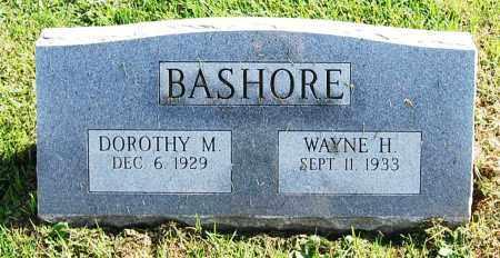 BASHORE, WAYNE H. - Juniata County, Pennsylvania | WAYNE H. BASHORE - Pennsylvania Gravestone Photos