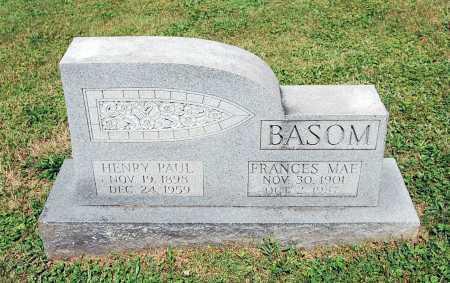 BASOM, HENRY PAUL - Juniata County, Pennsylvania | HENRY PAUL BASOM - Pennsylvania Gravestone Photos