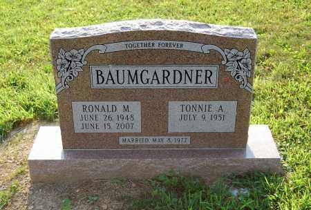"BAUMGARDNER, TONAL ""TONNIE"" - Juniata County, Pennsylvania | TONAL ""TONNIE"" BAUMGARDNER - Pennsylvania Gravestone Photos"