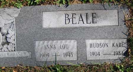 BEALE, ANNA LOU - Juniata County, Pennsylvania | ANNA LOU BEALE - Pennsylvania Gravestone Photos