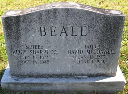 BEALE, ALICE - Juniata County, Pennsylvania | ALICE BEALE - Pennsylvania Gravestone Photos
