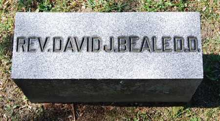 BEALE, DAVID JOSHUA - Juniata County, Pennsylvania | DAVID JOSHUA BEALE - Pennsylvania Gravestone Photos