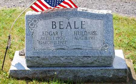 BEALE, EDGAR FRANCIS - Juniata County, Pennsylvania | EDGAR FRANCIS BEALE - Pennsylvania Gravestone Photos