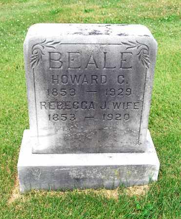 BEALE, HOWARD CALVIN - Juniata County, Pennsylvania | HOWARD CALVIN BEALE - Pennsylvania Gravestone Photos