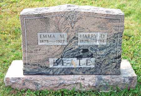 BEALE, EMMA M. - Juniata County, Pennsylvania | EMMA M. BEALE - Pennsylvania Gravestone Photos