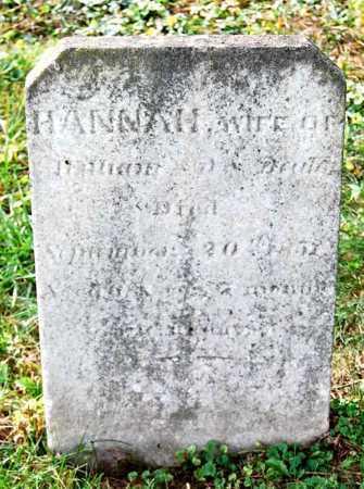 BEALE, HANNAH - Juniata County, Pennsylvania | HANNAH BEALE - Pennsylvania Gravestone Photos
