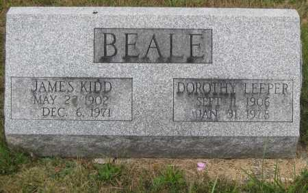 BEALE, JAMES KIDD - Juniata County, Pennsylvania | JAMES KIDD BEALE - Pennsylvania Gravestone Photos