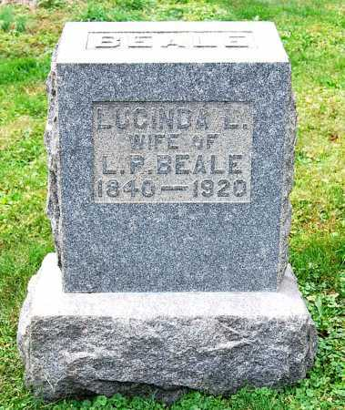 "BEALE, LUCINDA ""LUCY"" LUTZ - Juniata County, Pennsylvania | LUCINDA ""LUCY"" LUTZ BEALE - Pennsylvania Gravestone Photos"