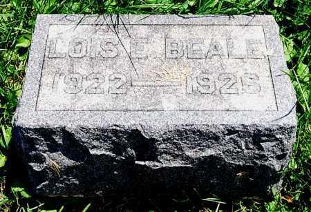 BEALE, LOIS ELAINE - Juniata County, Pennsylvania | LOIS ELAINE BEALE - Pennsylvania Gravestone Photos