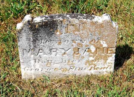 BEALE, MARY JANE - Juniata County, Pennsylvania | MARY JANE BEALE - Pennsylvania Gravestone Photos