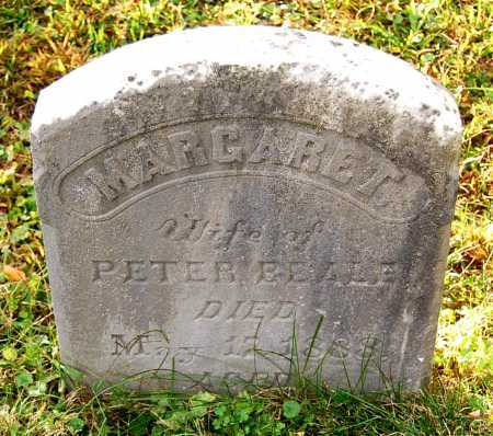 BEALE, MARGARET - Juniata County, Pennsylvania   MARGARET BEALE - Pennsylvania Gravestone Photos