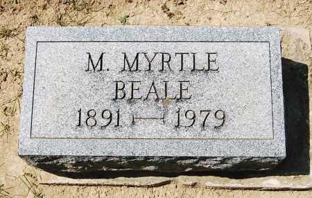 BEALE, M. MYRTLE - Juniata County, Pennsylvania | M. MYRTLE BEALE - Pennsylvania Gravestone Photos