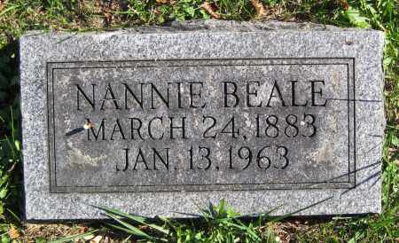 BEALE EATON, NANNIE - Juniata County, Pennsylvania | NANNIE BEALE EATON - Pennsylvania Gravestone Photos