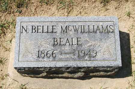 BEALE, NANCY BELLE - Juniata County, Pennsylvania | NANCY BELLE BEALE - Pennsylvania Gravestone Photos