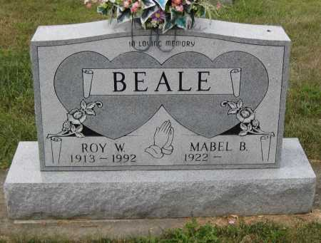 BEALE, ROY W. - Juniata County, Pennsylvania | ROY W. BEALE - Pennsylvania Gravestone Photos