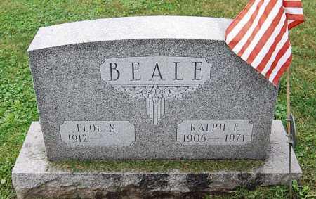 BEALE, FLOE SARAH - Juniata County, Pennsylvania | FLOE SARAH BEALE - Pennsylvania Gravestone Photos