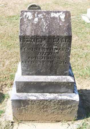 "BEALE, SUSAN ""LIZZIE"" M. - Juniata County, Pennsylvania | SUSAN ""LIZZIE"" M. BEALE - Pennsylvania Gravestone Photos"